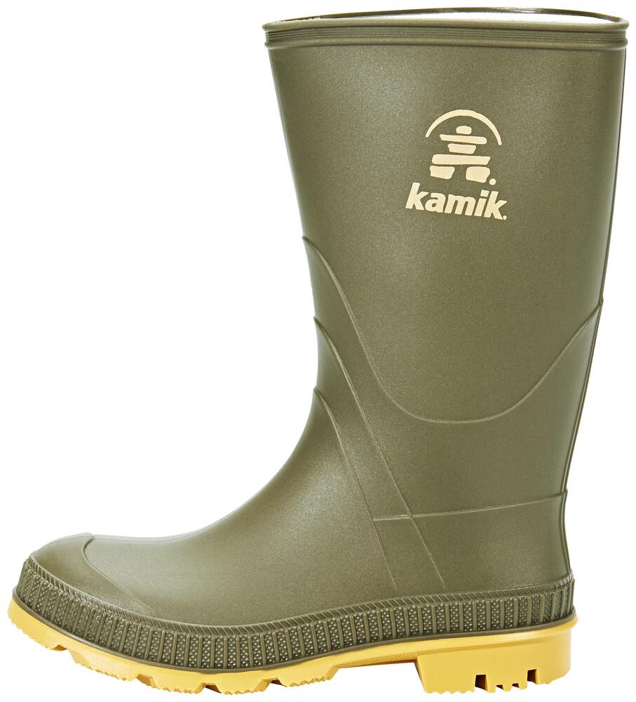 Kamik Stomp Rubber Boots Kids Olive Größe US 2 F8Tb8